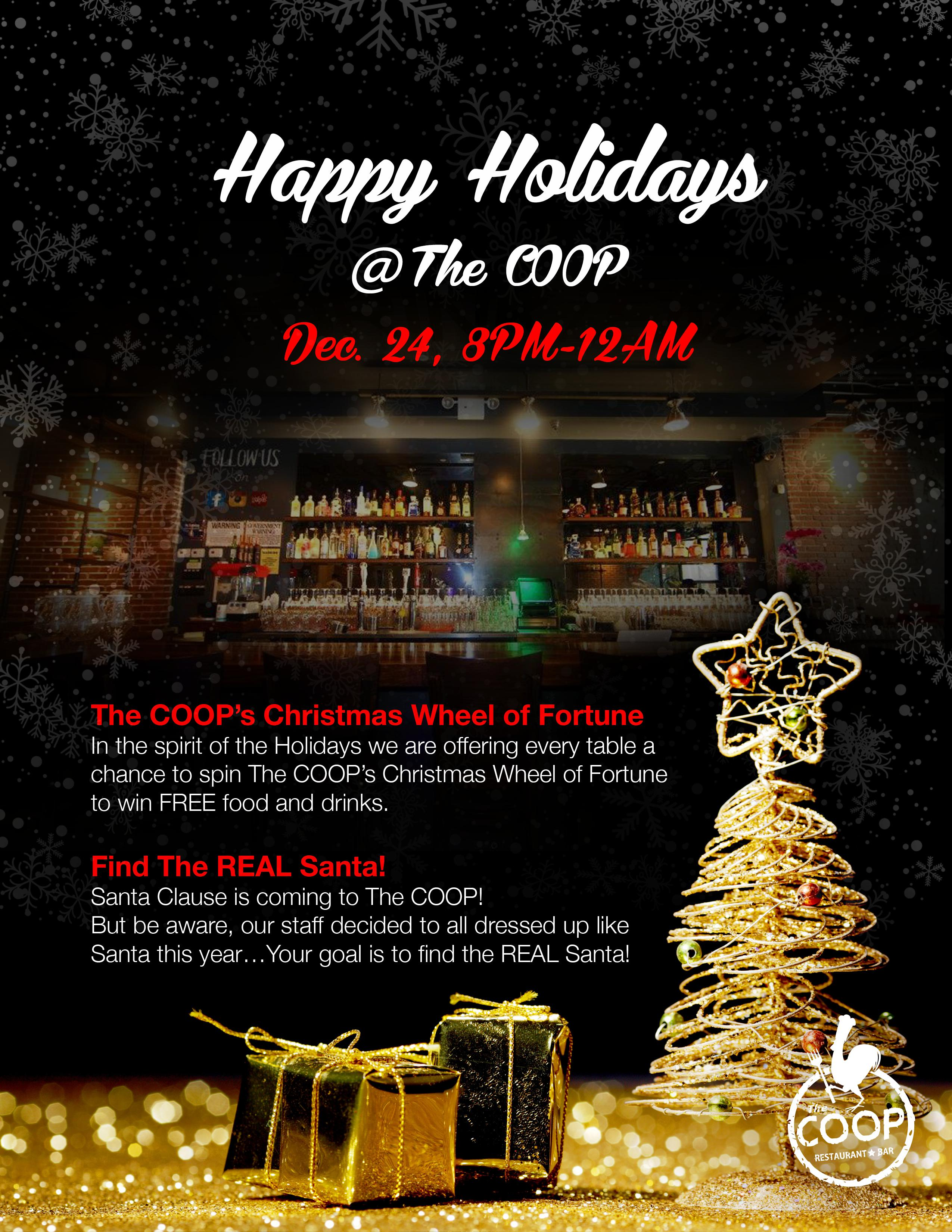 Happy Christmas Event 2015 @ The COOP | The Coop